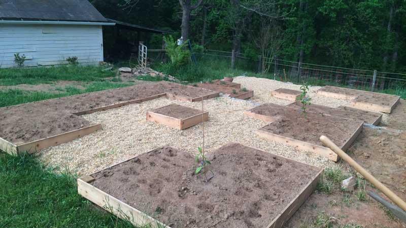 Memorial garden planting