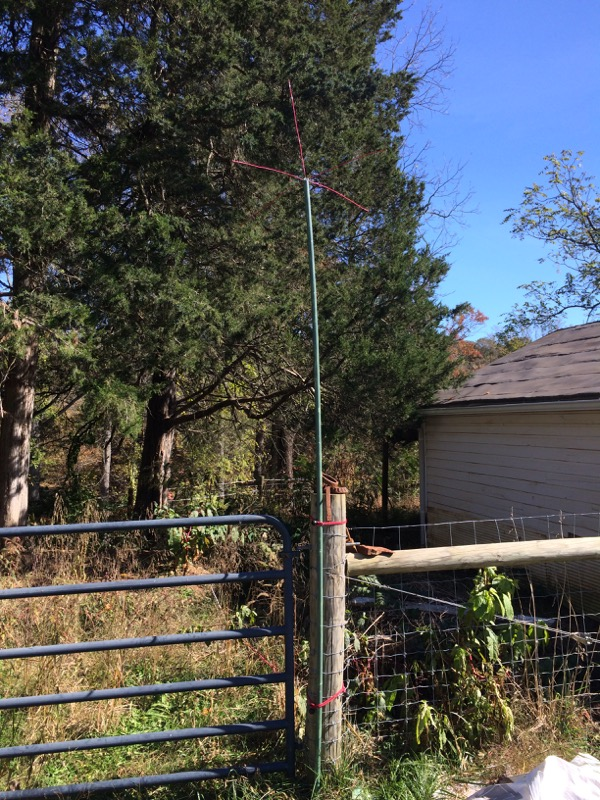 Quarter wave ground plane antenna