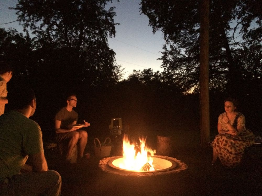 Firepit for small group