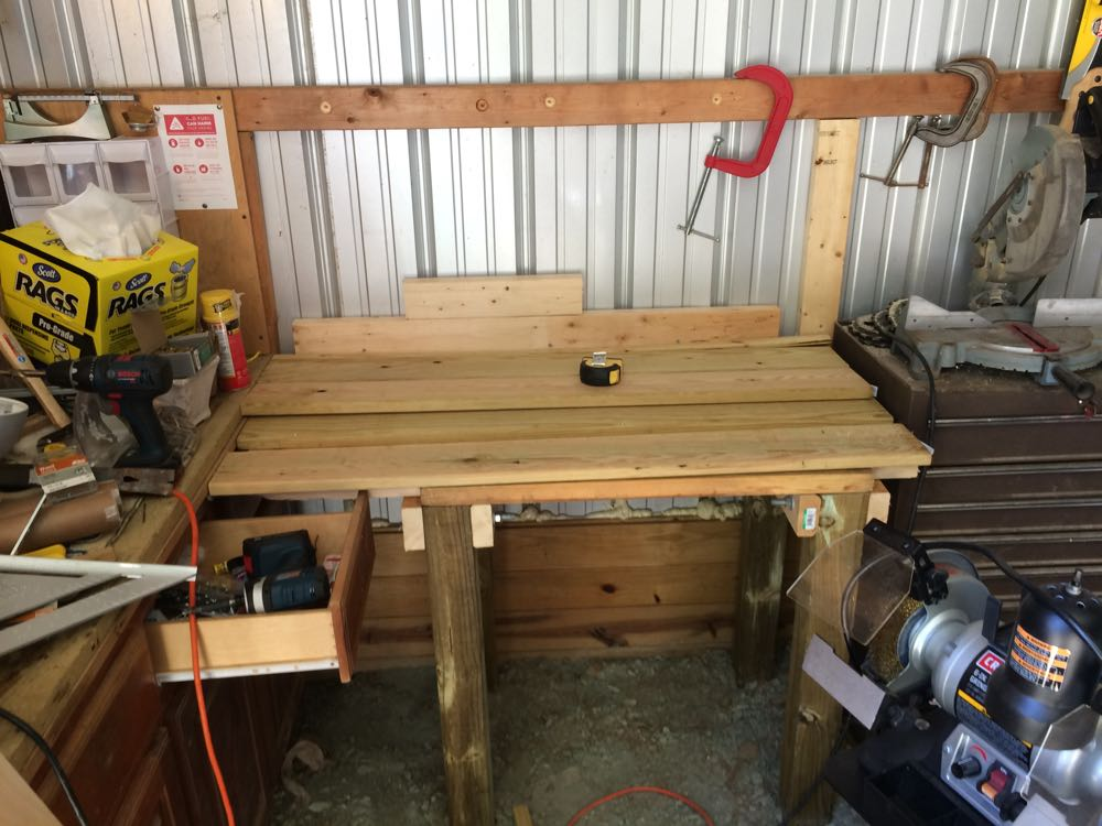 Finished workbench 2