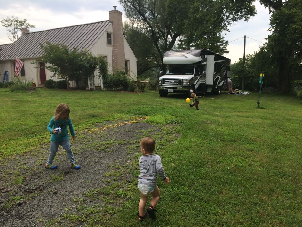 Soccer and RV