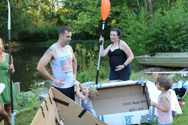 4th Annual Sfumato Cardboard Boat Regatta